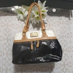 Marc Fisher Patent Leather Satchel Purse